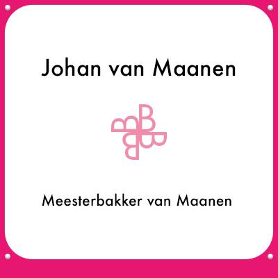 Johan van Maanen - Meesterbakker van Maanen