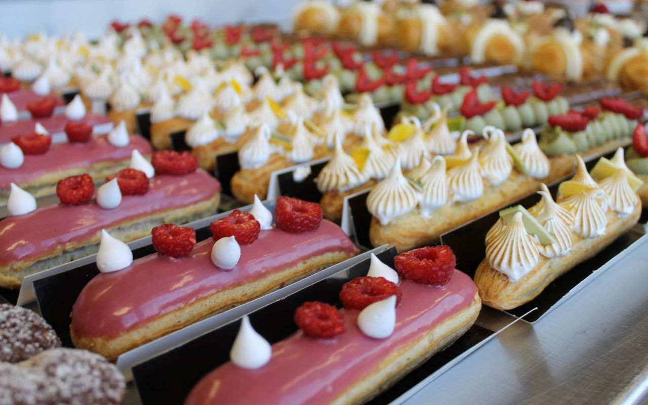 ENGLISH - French Pastry course