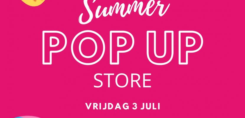 Kom 3 juli naar de Bakery Summer Pop-up Store